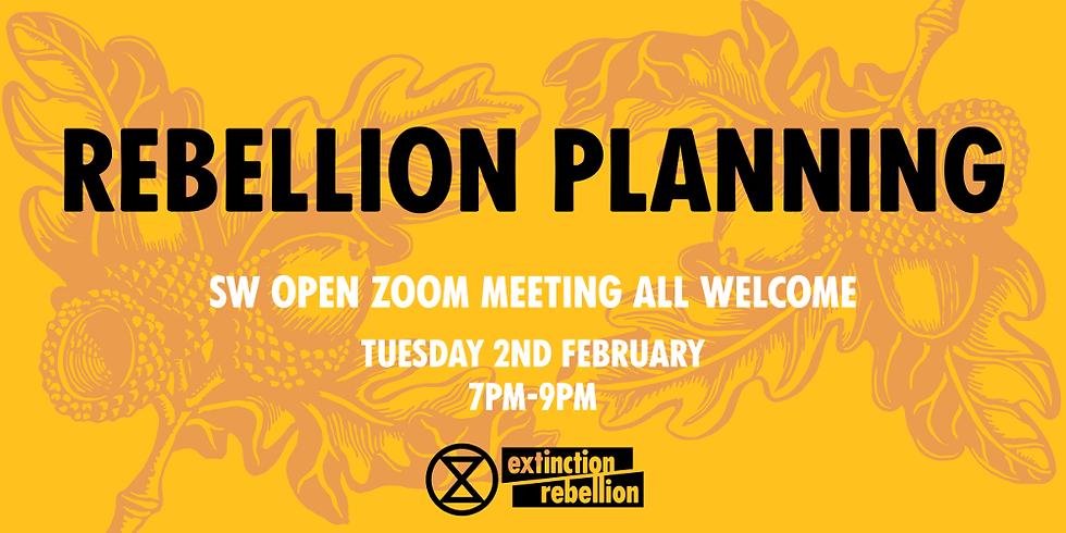 Extinction Rebelion - South West - Online meeting