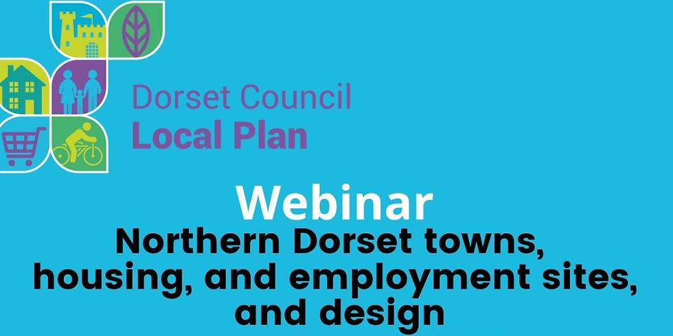Dorset Council, Local Plan & North Dorset Towns - Webinar