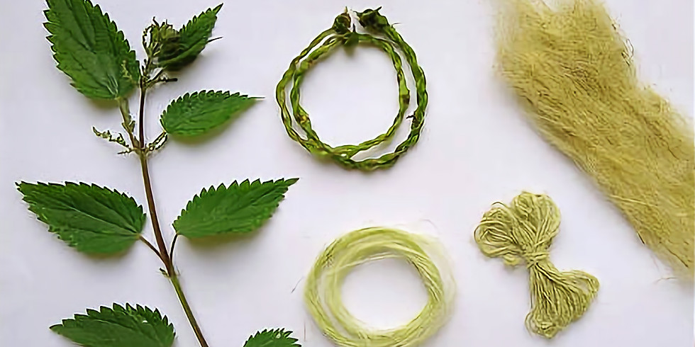 Nettle Workshop: Extracting fibre, making string & more