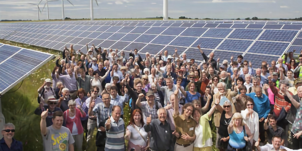 Zero Carbon Britain: live online - local energy solutions (one day course)