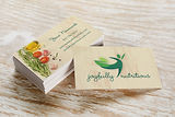 Cianci Creative, LLC builds business cards that reinforce and strengthen your brand