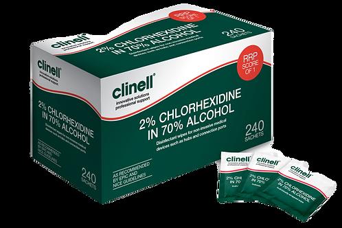 2% Chlorhexidine in 70% Alcohol CA2C240