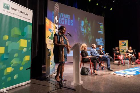 Conférence de presse festival Nouveaux Regards. Février 2018