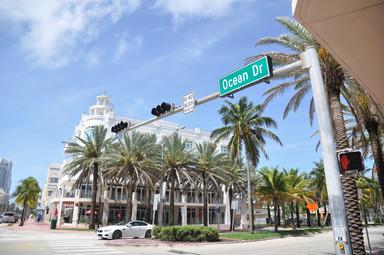 Ocean Drive. Miami Beach
