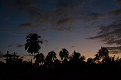 Sunset. Puerto-Rico