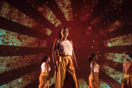 Spectacle danse MA. Artchipel. Juin 2018