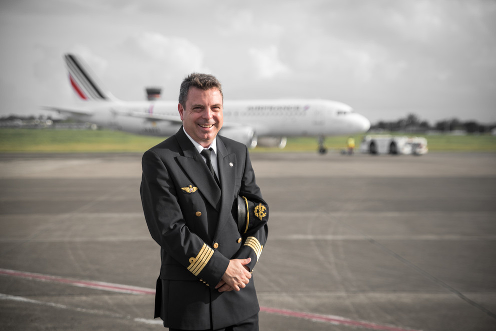Commandant de bord Air France. Mai 2019