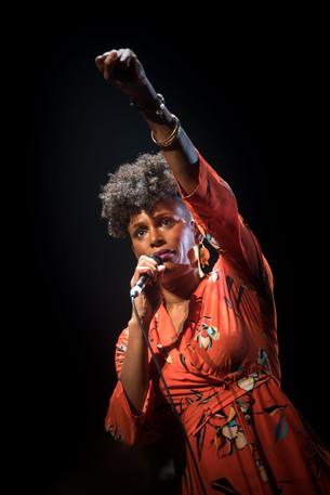 Sandra Nkaké. Octobre 2018