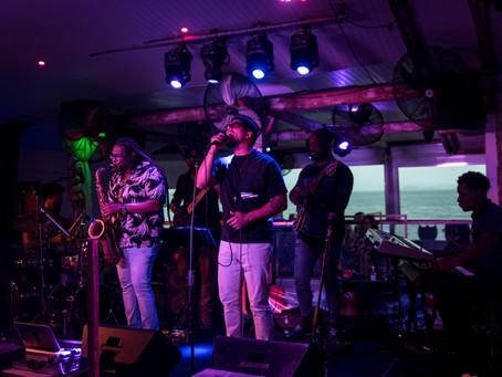 Concert Ben l'Oncle Soul, Live au Sunset, Fort de France, Martinique