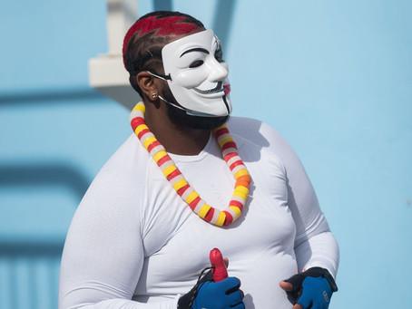 Lundi Gras, Fort de France, Martinique, 15 Février 2021