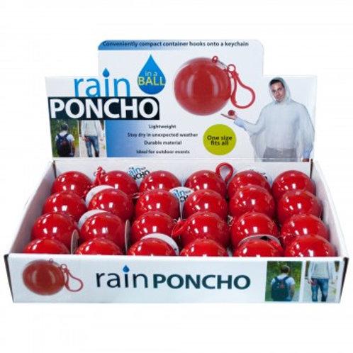 Poncho Rain Ball/hook
