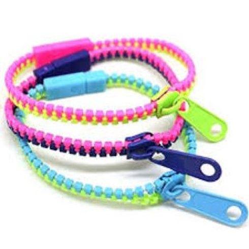 Zipper Bracelets 3 pack