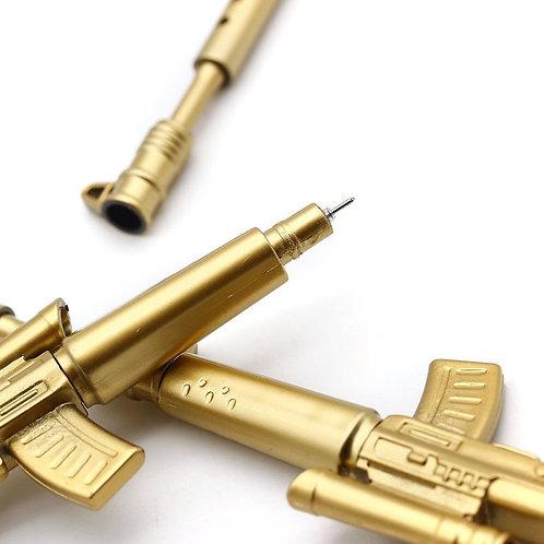 Gold Rifle Pen