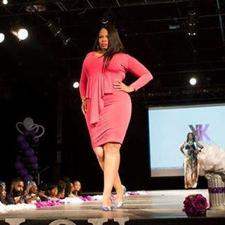 Because what she serves is #curves! #runway #model #thebrand #fullfigured #beautiful #international