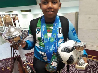 Young Dominican footballer shines in Russia