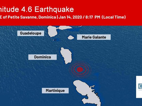 BREAKING NEWS: Earthquake shakes Dominica again