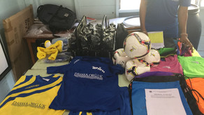 DASSSA Donates Football Kits to Orion Academy.