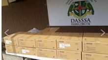 DASSSA Donates WiFi Projectors to all Secondary Schools in Dominica.