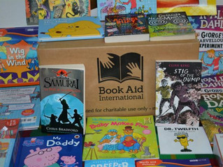 Dominica Library and Information Service receives donation from Book Aid International