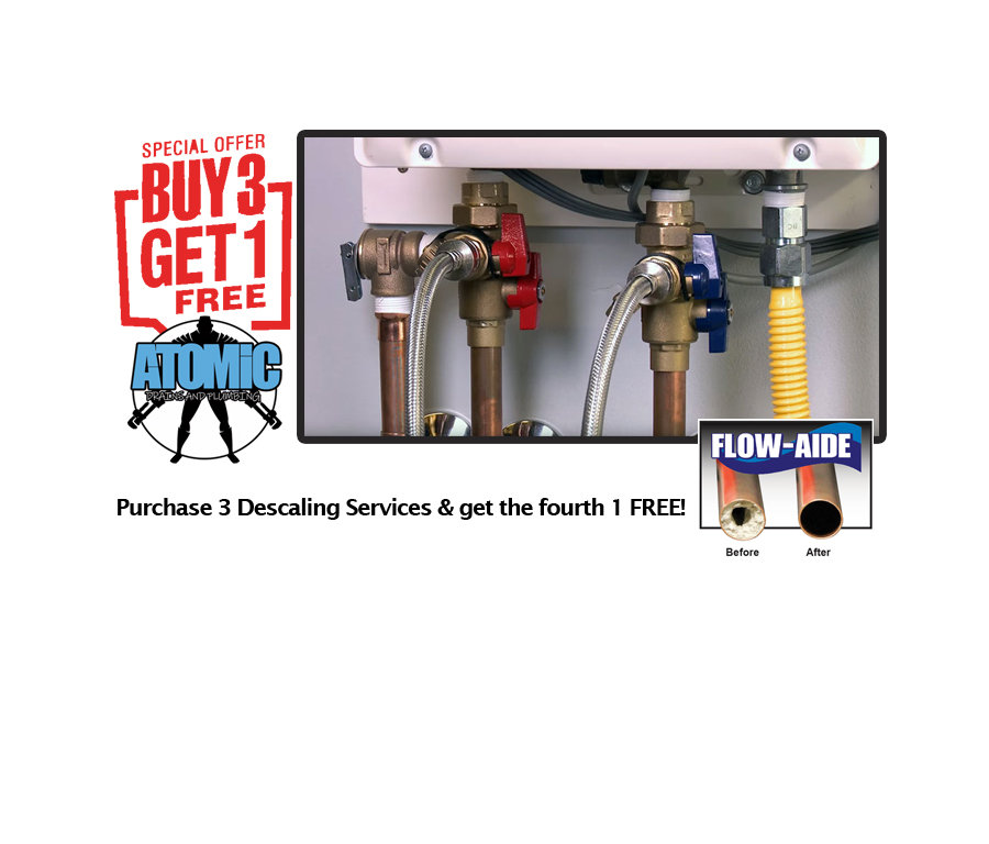 Tankless Water Heater Descaling