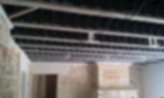 Plafond avant pose plafond tendu bordeaux gironde