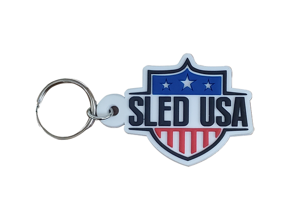 Sled USA Keychain