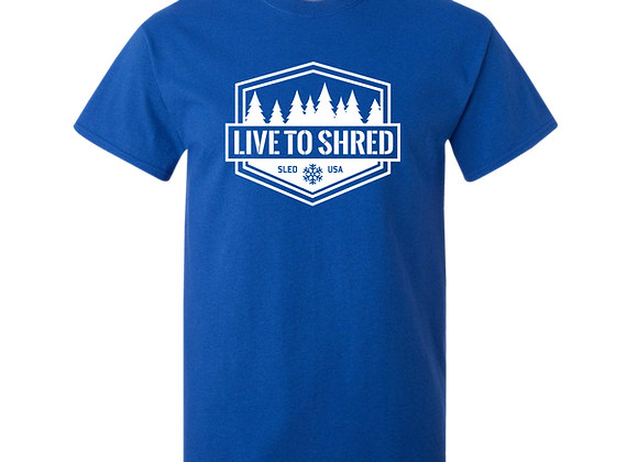 Shred Tee (Blue)