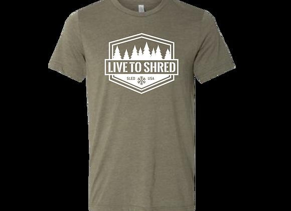 Shred Tee (Olive)