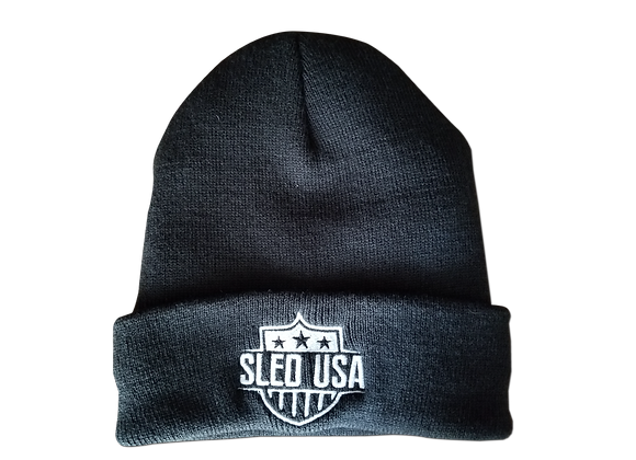 Sled USA Stocking Hat (Fleece Lined)