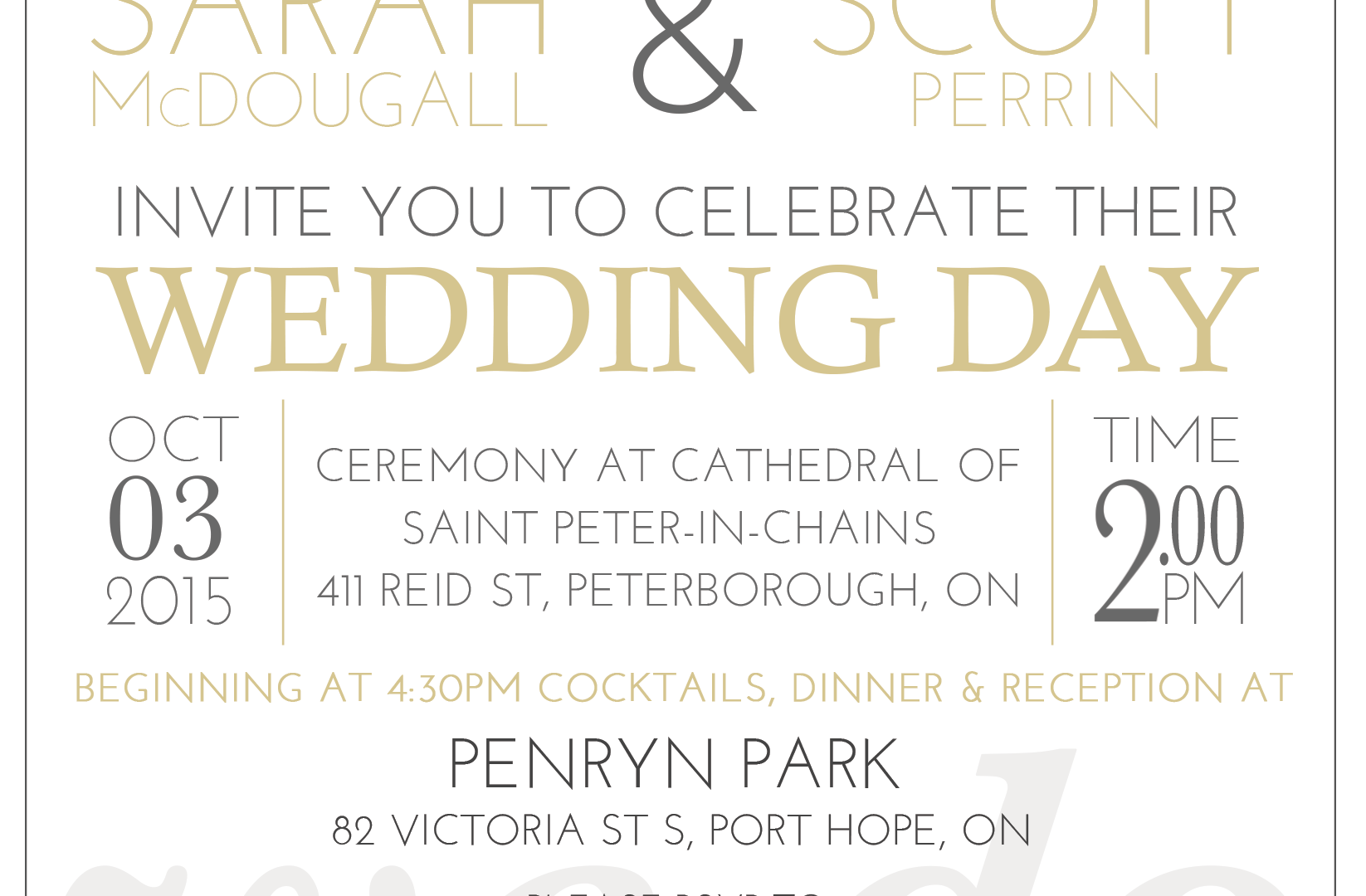 Print Invite