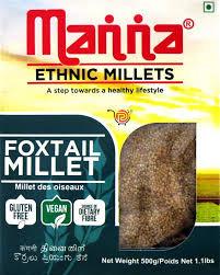 Foxtail Millets - Manna brand