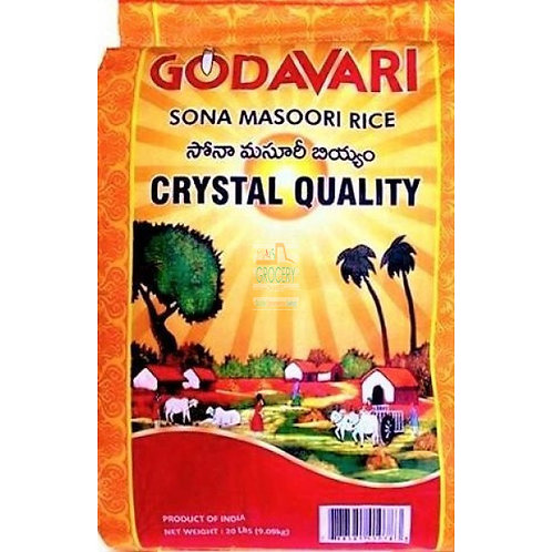 Godavari  - Sonamasuri Rice -20lb
