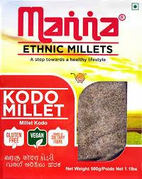 Kodo Millets - Manna brand