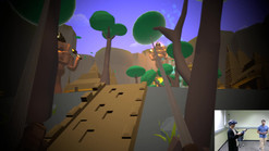 Hooked: VR Game about swinging on trees to find a treasure