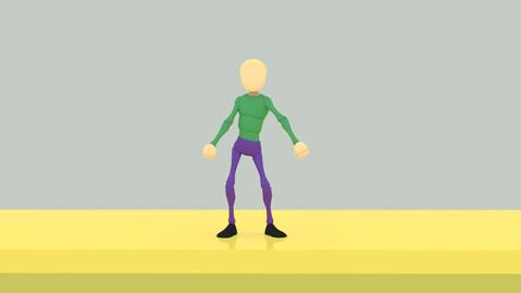 Floss Dance Animation