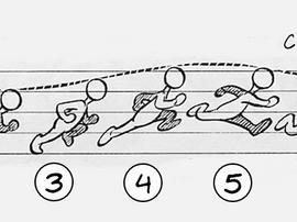 Animating a run cycle in Maya -  Process breakdown
