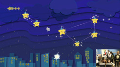 Starry Dreams- Game about shooting stars to create constellations