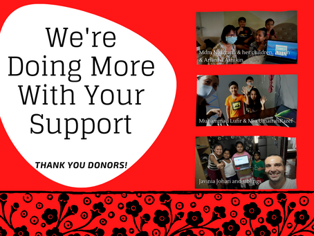 Thank You Donors!