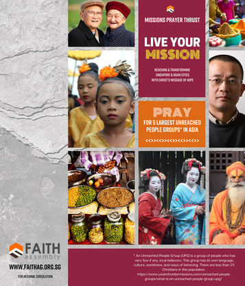 Upcoming Event > Live Your Missions   Prayer Card