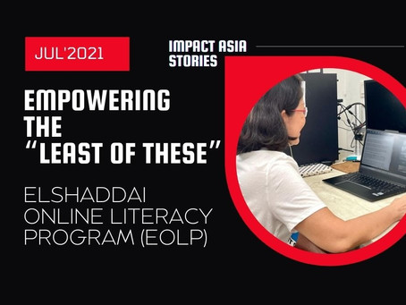 """July Highlight > Empowering """"The Least Of These"""" 