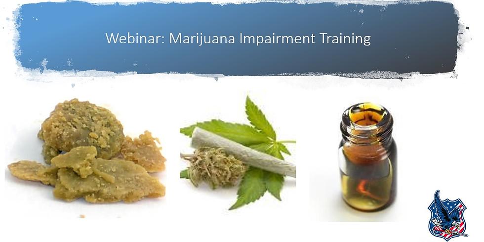 Marijuana Impairment Training