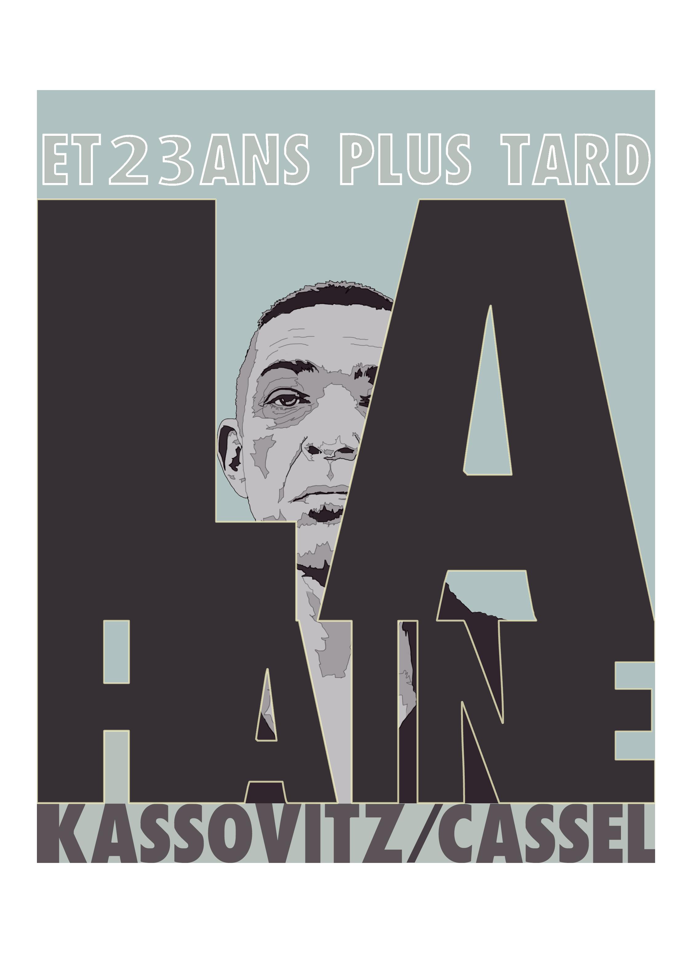 La Haine anniversary poster