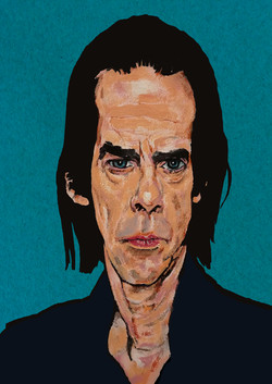 Nick Cave - color study