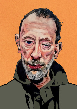Thom Yorke - color study