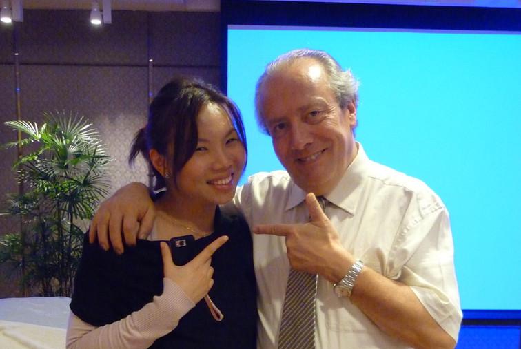 Dr Renee with Dr Alessio Radaelli (Vascular & Cosmetic Surgeon, Milan)