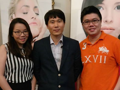 Dr Renee & Dr Cheok with Dr Ahn Sang Tae (Cosmetic Plastic Surgeon, Korea)