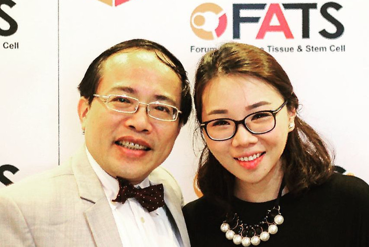 Dr. Renee had a fruitful discussion with Prof. Ling (Taiwan) on fat grafting