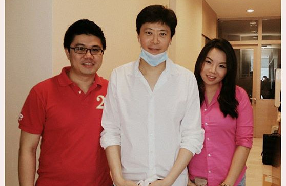 Dr Renee & Dr Cheok with Dr Choi Joon Yong (Renowned plastic surgeon, Korea)