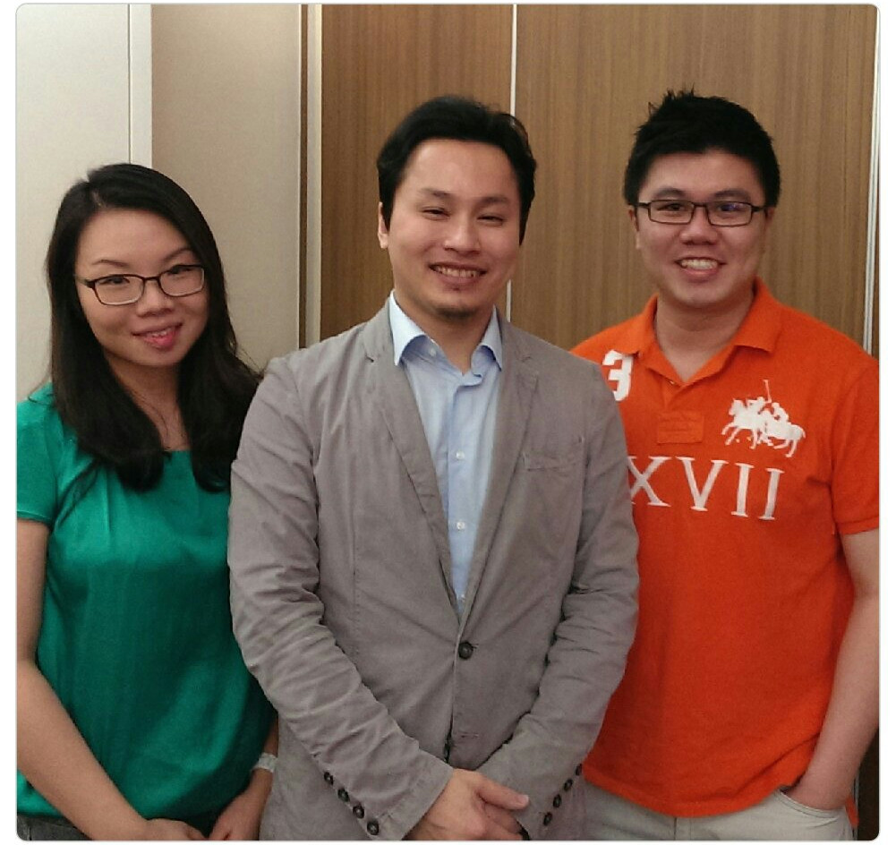 Dr Renee & Dr Cheok with Dr Huang(Cosmetic Plastic Surgeon, Taiwan)