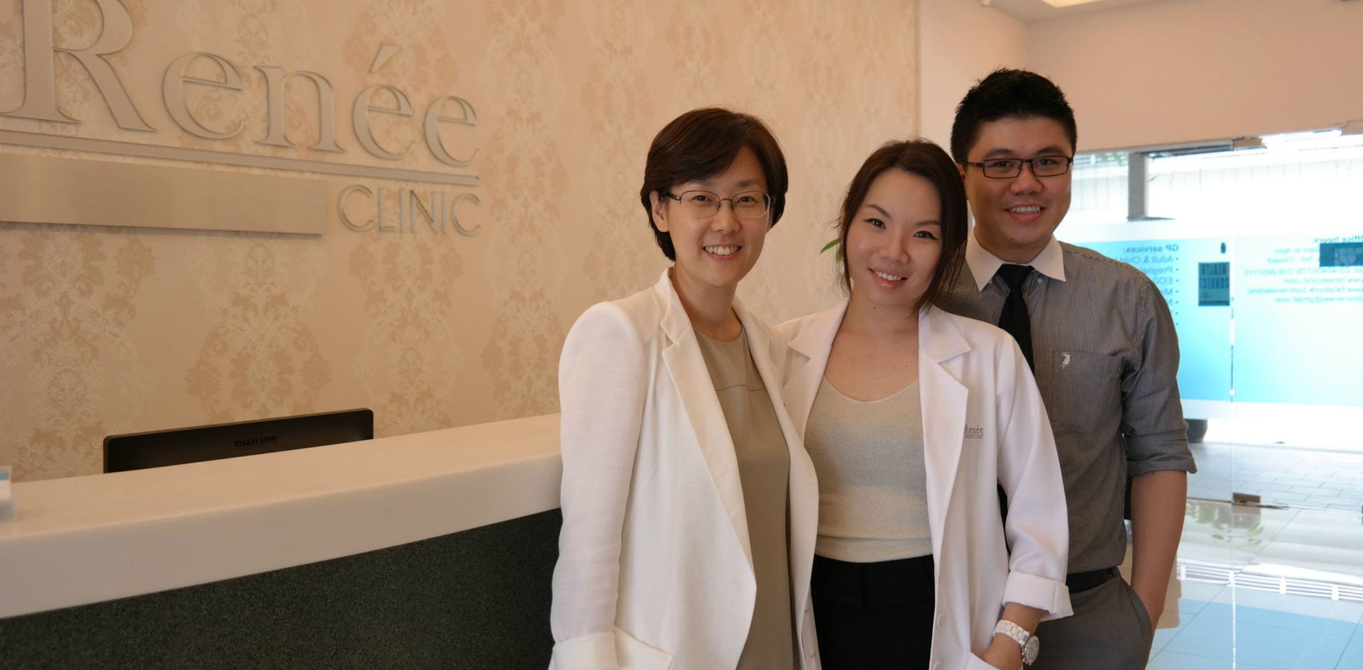 Dr Renee & Dr Cheok with Dr Park Sun Joo (Expert Radiesse Injector, Korea)
